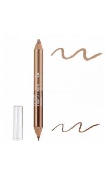 Crayon Duo BIO Fard à paupières & Crayon pour les yeux Bronze Cuivré / Beige Doré - Avril