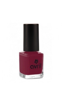 Vernis à ongles naturel Bourgogne nº 26 - Avril - 7 ml.