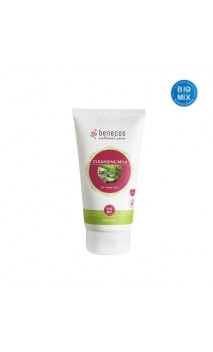 Lait nettoyant bio For clean skin Aloe vera - Benecos - 150 ml.