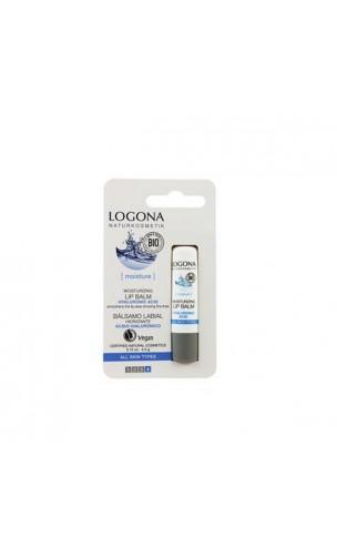 Baume à lèvres bio Hydratant Acide Hyaluronique - LOGONA - 4,5 gr.