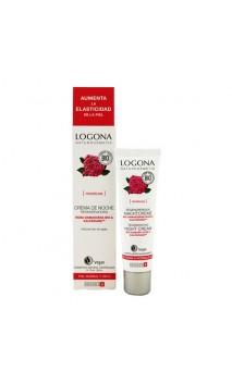 Crème de nuit Régénératrice Roses Bio - LOGONA - 30 ml.