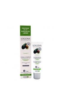 Crema Vitamínica Regeneradora 24 h. Aguacate & Vitamina E - LOGONA - 30 ml.