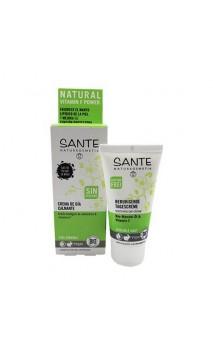Crema de día ecológica Calmante Sin perfume - SANTE - 50 ml.