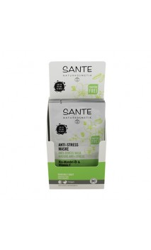 Masque visage BIO Anti-stress Sans parfum - SANTE - (2 x 4 ml.)