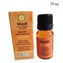 Aceite ecológico Antiedad facial - Khadi - 10 ml.