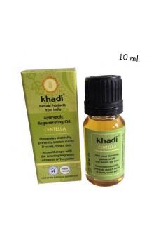 Huile bio Régénératrice Centella Vergetures & Cicatrices - Khadi - 10 ml.