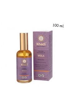 Aceite Facial & corporal ecológico Violeta Piel normal - Khadi - 100 ml.