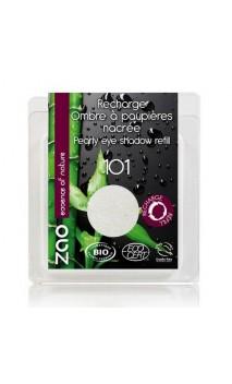 Recharge ombre à paupières bio - Blanc nacrée - ZAO - 101