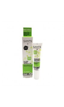Gel-crema contorno de ojos ecológico Calmante Sin perfume - SANTE - 15 ml.