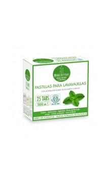 Pastillas para lavavajillas ecológicas Todo en 1 Eucalipto & Menta - Biocenter - 25 ud.