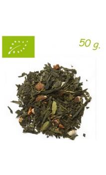 Thé vert Arcoiris (Bien-être) - Thé bio en vrac - Aromas de té