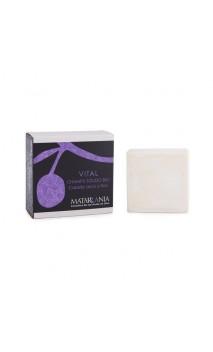 Shampooing solide bio VITAL Cheveux secs et fins - Matarrania - 120 ml.