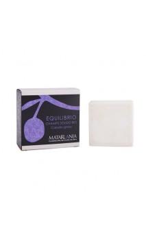 Shampooing solide bio EQUILIBRIO Cheveux gras - Matarrania - 120 ml.