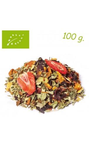Infusion Mélange fruité Berry Love (Baies sauvages) - Elements - Infusion Bio en vrac - Alveus