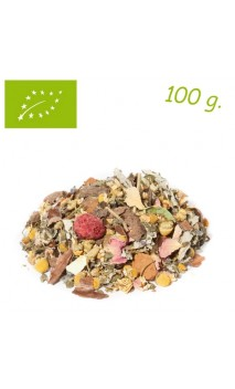 Infusion Mélange fruits & herbes Hello Harmony (Orange sanguine, crème & vanille) - Herbs for you - Infusion bio - Alveus