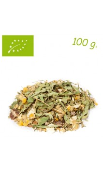 Infusion Mélange fruits & herbes Relaxed day (Orange sanguine & vanille) - Herbs for you - Infusion bio en vrac - Alveus
