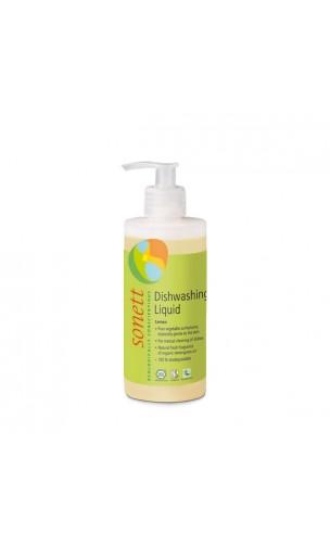 Lavavajillas a mano ecológico Limón - Sonett - 300 ml.