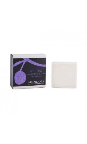 Mousse de savon naturel bio 100% - Matarrania - 125 gr.