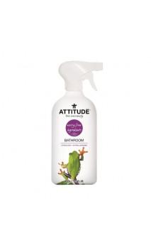 Nettoyant salle de bain en spray - Zeste d'agrume - Attitude - 800 ml.