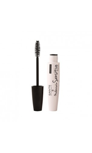 Mascara bio Noir Mademoiselle Sensitive - SANTE - 8 ml.
