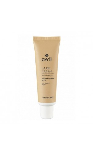 BB Cream BIO Medium FPS 10 - Avril - 30 ml.