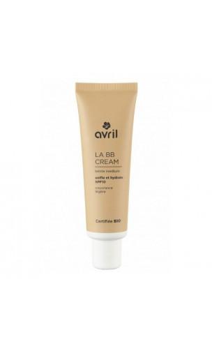 BB Cream ecológica Medium FPS 10 - Avril - 30 ml.
