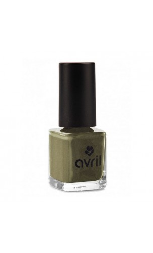 Vernis à ongles naturel Acier nacré nº 102 - Avril - 7 ml.
