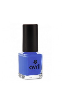 Vernis à ongles naturel Lapis Lazuli nº 65 - Avril - 7 ml.