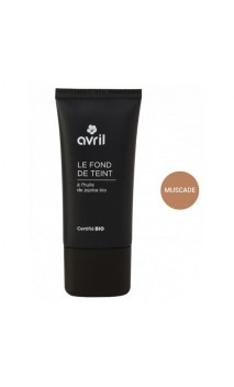 Base de maquillaje ecológica Muscade - Avril - 30 ml.