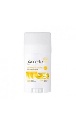 Déodorant bio baume Ylang & Palmarosa - Sans alcool - Acorelle - 40 gr.