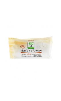 Jabón cremoso ecológico Leche de burra - Mon Lait d'Ânesse SO'BiO étic - 100 gr.