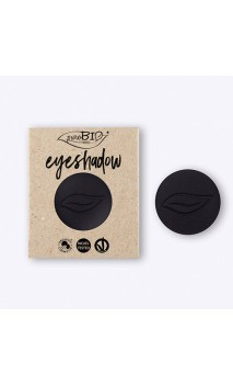 Recarga Sombra de ojos ecológica Negro Mate 04 - PuroBIO - 2,5 gr.