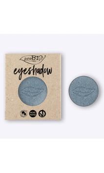Recarga Sombra de ojos ecológica Azul Hielo 09 - PuroBIO - 2,5 gr.