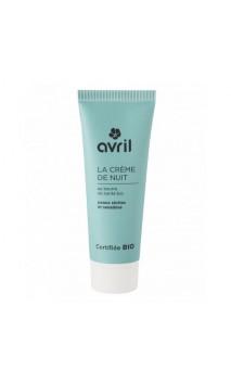 Crème de nuit Bio Peaux Sèche & sensible Beurre de karité bio - Avril - 50 ml.