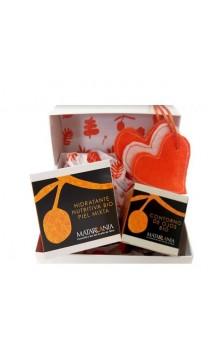 Pack regalo bio Contorno de ojos bio Sin perfume y Crema facial piel mixta bio - Matarrania