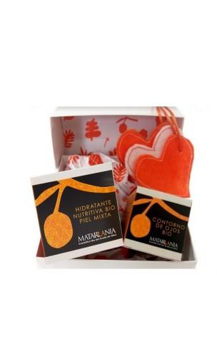 Pack cadeau Contour des yeux bio Sans parfum et Mousse de savon bio - Matarrania