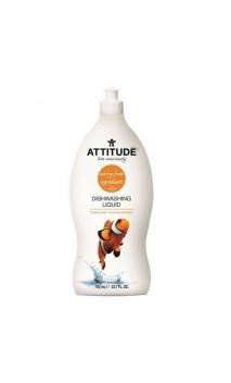 Liquide vaisselle bio concentré Pamplemousse & Bergamote - Attitude - 700 ml.