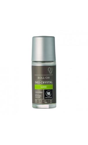 Déodorant bio Roll-on Citron Vert - URTEKRAM - 50 ml.