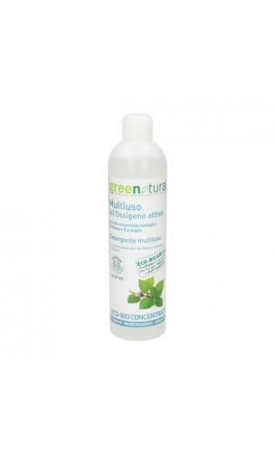 Nettoyant Multi-usages Désinfectant / Multisurface Menthe & Eucalyptus bio - Greenatural - 500 ml.