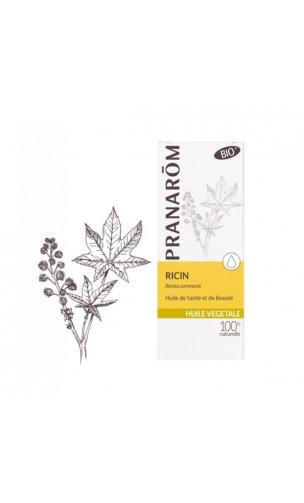 Aceite de Ricino - Aceite vegetal ecológico - Pranarôm - 50 ml.