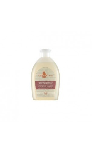 Shampooing bio Délicat Protéines & Avoine - Sans savon - NeBiolina - 500 ml