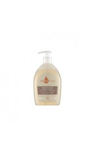 Gel Dermo-limpiador ecológico Cara & Manos Sin jabón con Avena bio - NeBiolina - 500 ml