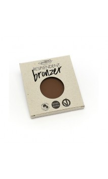 Recharge poudre bronzante bio RESPLENDENT Marron Noisette 02 - PuroBIO - 9 gr.
