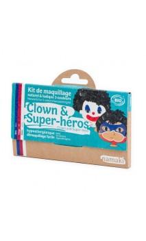 Kit de maquillaje ecológico para niños Payaso & Superhéroe - Namaki