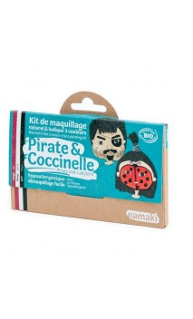 Kit de maquillage bio pour enfants Pirates & Coccinelle - Namaki