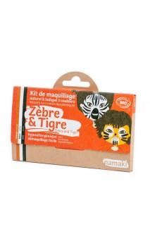 Kit de maquillaje ecológico para niños Cebra & Tigre - Namaki