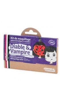Kit de maquillaje ecológico para niños Diablo & Vampiro - Namaki