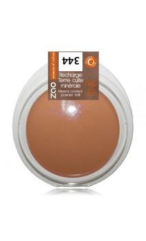 Recharge terre cuite bio - Chocolat - ZAO - 344