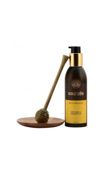 Crema hidratante ecológica Albaricoque Ayurveda con Manteca de Kokum - Soultree - 200 ml.