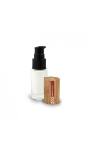 Base teint lumière - Maquillage BIO - ZAO Make Up - 700 Blanche - 30 ml.